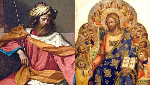Jesús cumplió la monarquía davídica y hace a Pedro su primer ministro de la nueva Israel, su Iglesia