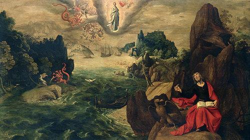 Apocalipsis 17, 8: Y los moradores de la tierra, cuyo nombre no está escrito en el libro de la vida desde la creación del mundo, se maravillarán viendo la bestia, porque era y no es, y reaparecerá.