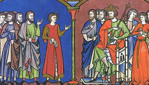 Concilio de Jerusalén relatado en 1 Crónicas capítulo 28 o 1 Paralipómenos capítulo 28