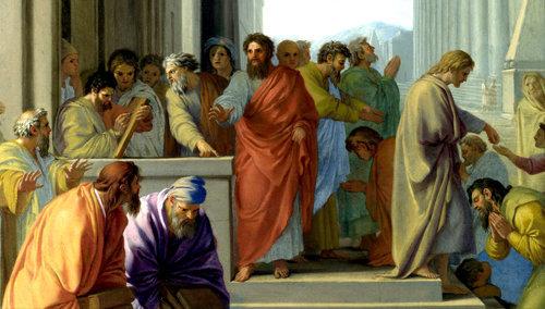 San Pablo predicando