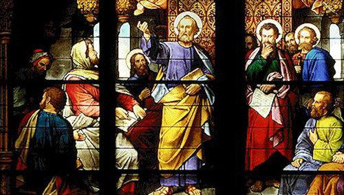 Concilio de Jerusalén relatado en Hechos de los Apóstoles capítulo 15