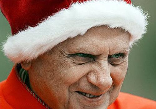 Anti-Papa Benedicto XVI es Joseph Ratzinger.