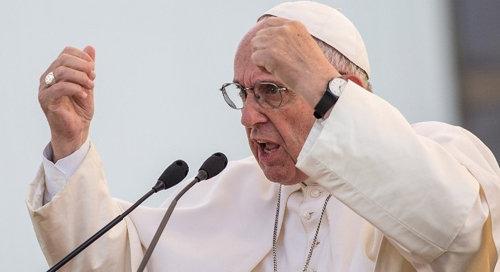 Anti Papa Francisco dice 'Dios no puede ser Dios sin el hombre'