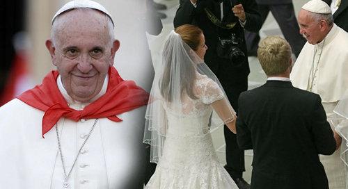 Anti Papa Francisco en Twitter sobre divorciados vueltos a 'casar'