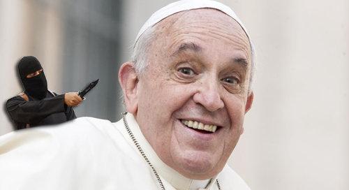 El Anti Papa Francisco dice que difundir el Evangelio no es diferente al yihad