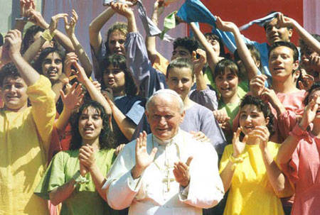 Anti-Papa Juan Pablo II salvación universal