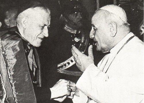Cushing con Juan XXIII