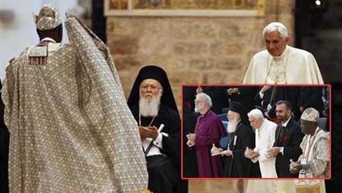 El evento en Asís de Benedicto XVI - ¿Qué tan grave fue?