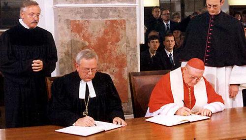 Para Salvarte de Loring aprueba la Declaración Conjunta sobre la justificación con los luteranos de 1999