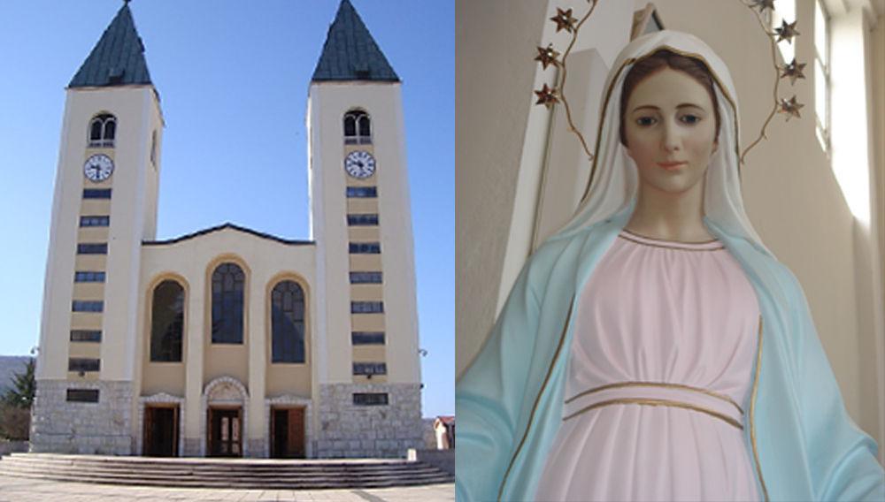 La 'iglesia' de la 'Virgen de Medjugorje'