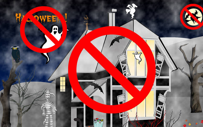 Halloween 31 de octubre - demonios fantasmas brujas paganismo