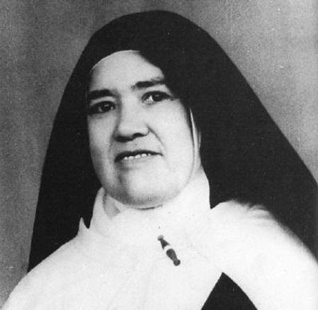 """La """"Hna. Lucía"""" en 1967 a la edad de 60 años"""