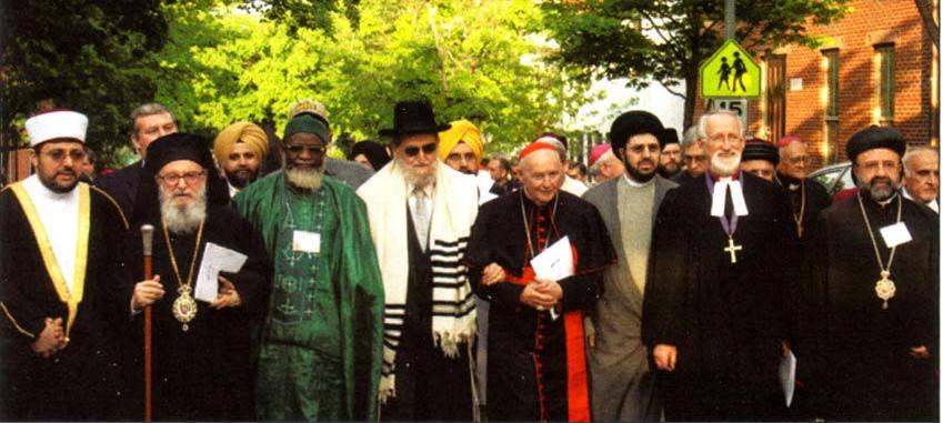 La apostasía interreligiosa de la contra Iglesia se extiende desde Roma a las universidades