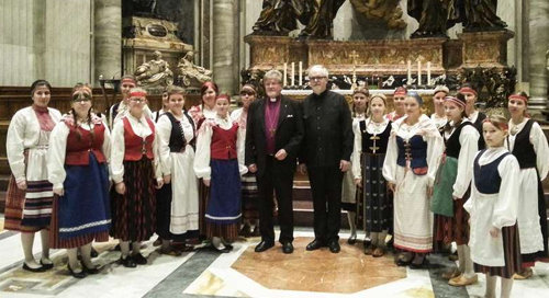 """""""Luteranos reciben la comunión en el Vaticano"""""""