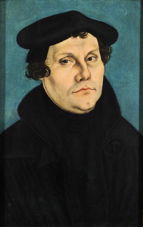 Martín Lutero protestante