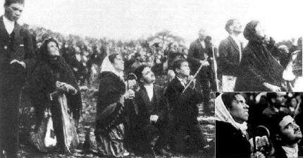 Los testigos del milagro de Fátima en 1917