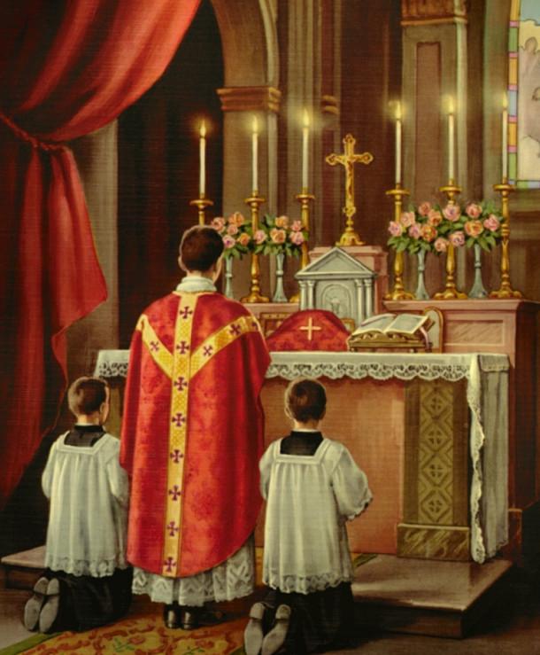 Matrimonio Catolico Tradicional : La misa tradicional en latín contra nueva fotos