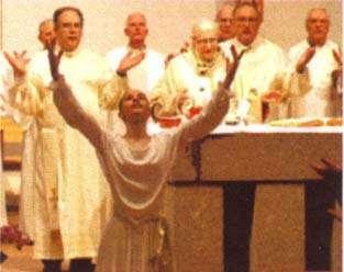 Nueva misa falsa religión