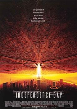 """Película """"Día de la Independencia"""" 1996"""