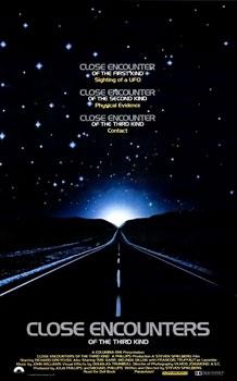 """Películas """"Encuentros cercanos del tercer tipo"""" 1977"""