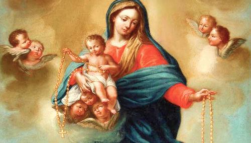 las Quince Promesas del Santo Rosario