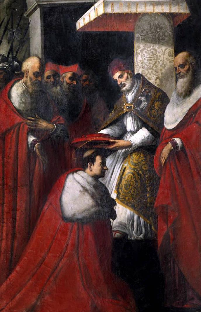 San Carlos Borromeo consagrado cardenal