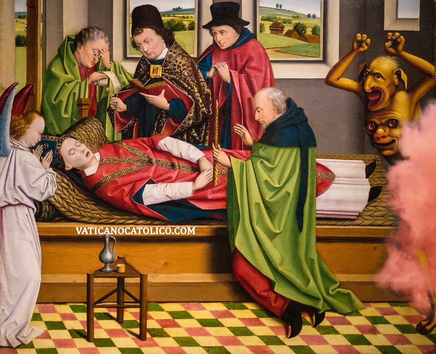 San Martín de Tours en su caballo y hace caridad al hombre pobre
