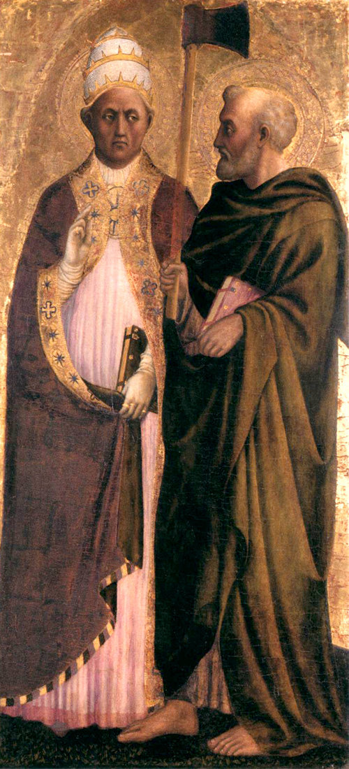 San Matías Apóstol y el Papa San Gregorio Magno