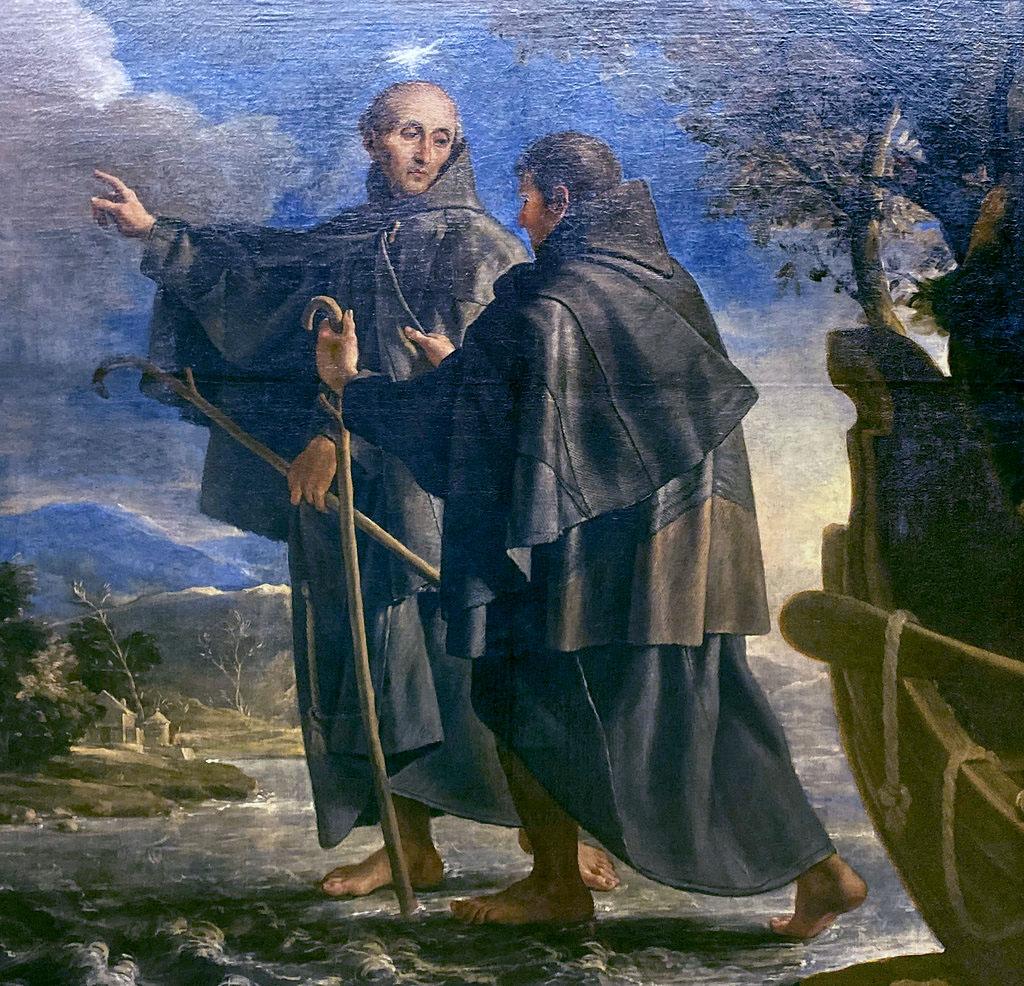 San Pedro de Alcántara milagro en el río Tera