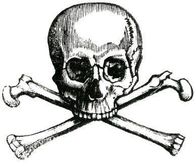 Logotipo antiguo de la Skull and Bones