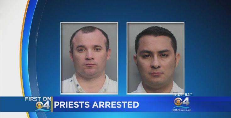 'Sacerdotes católicos' sodomitas realizaron un 'acto sexual' dentro de un carro cerca de un parque infantil