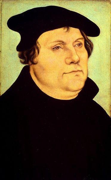 Martín Lutero, hereje protestante