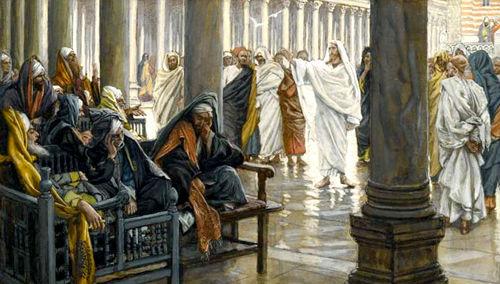 Jesús condena a los fariseos e hipocritas