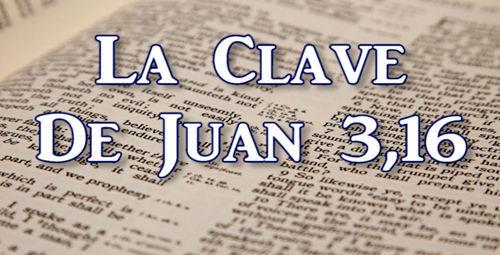 Juan 3 16 Biblia