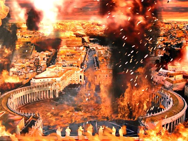 ¿La destrucción de Roma?