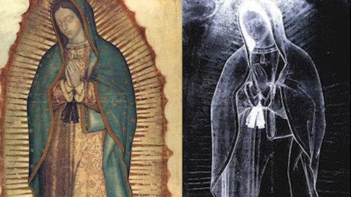 La Imagen de Guadalupe no tiene un bosquejo