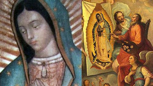 Los mensajes jeroglificos en la imagen de Guadalupe