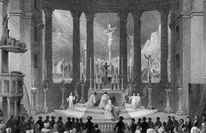Misa solemne para la Navidad - sábado no es día de reposo