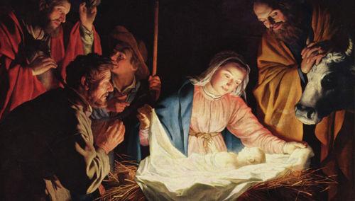 Navidad, Fiesta del nacimiento del Niño Jesús