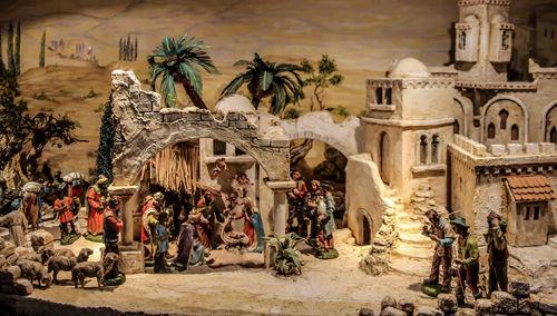 Portal de Belén, nacimiento del Niño Dios, Navidad