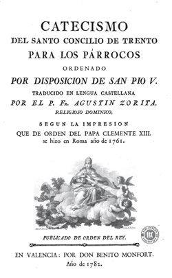 Catecismo del Concilio de Trento para párrocos