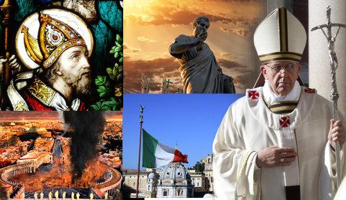 """La Profecía de San Malaquías - Francisco dice: """"soy romano"""""""