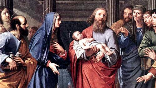 La Purificación de la Virgen María
