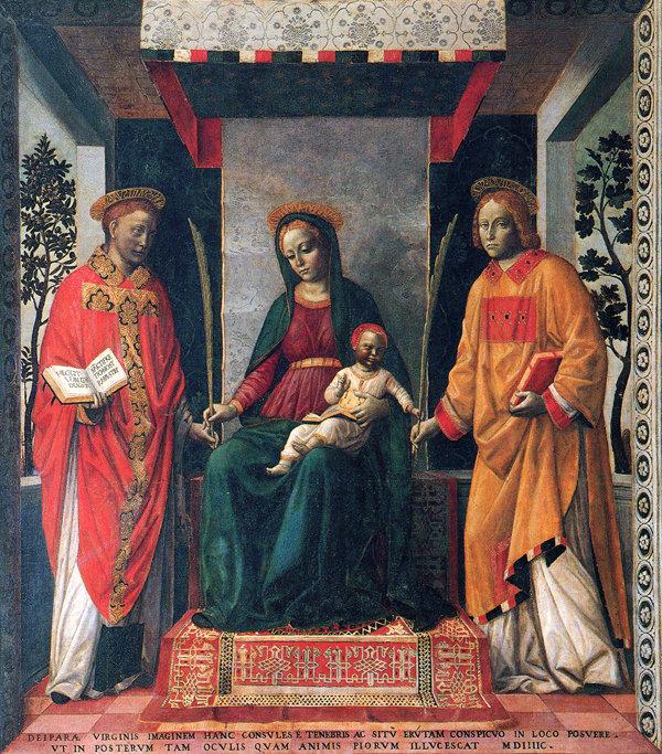 Santos Faustino y Jovita, hermanos y mártires
