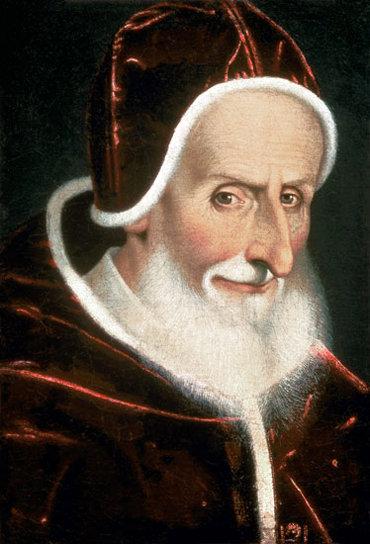 El Papa San Pío V
