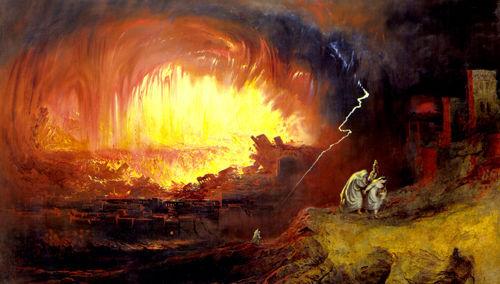 Dios no crea homosexuales. La destrucción de Sodoma y Gomorra.
