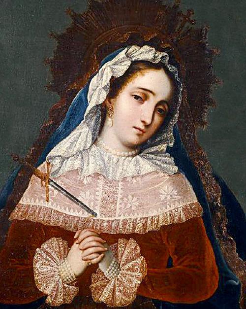 Los Siete Dolores de la Reina María, Madre de Dios