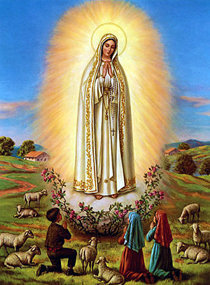 Nuestra Señora de Fátima se apareció en 1917 y se eligió el título de la Virgen del Rosario