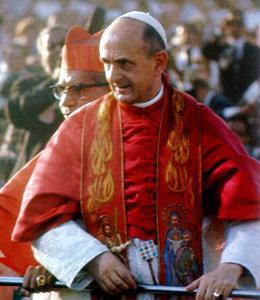 El Antipapa Pablo VI con el efod judío.