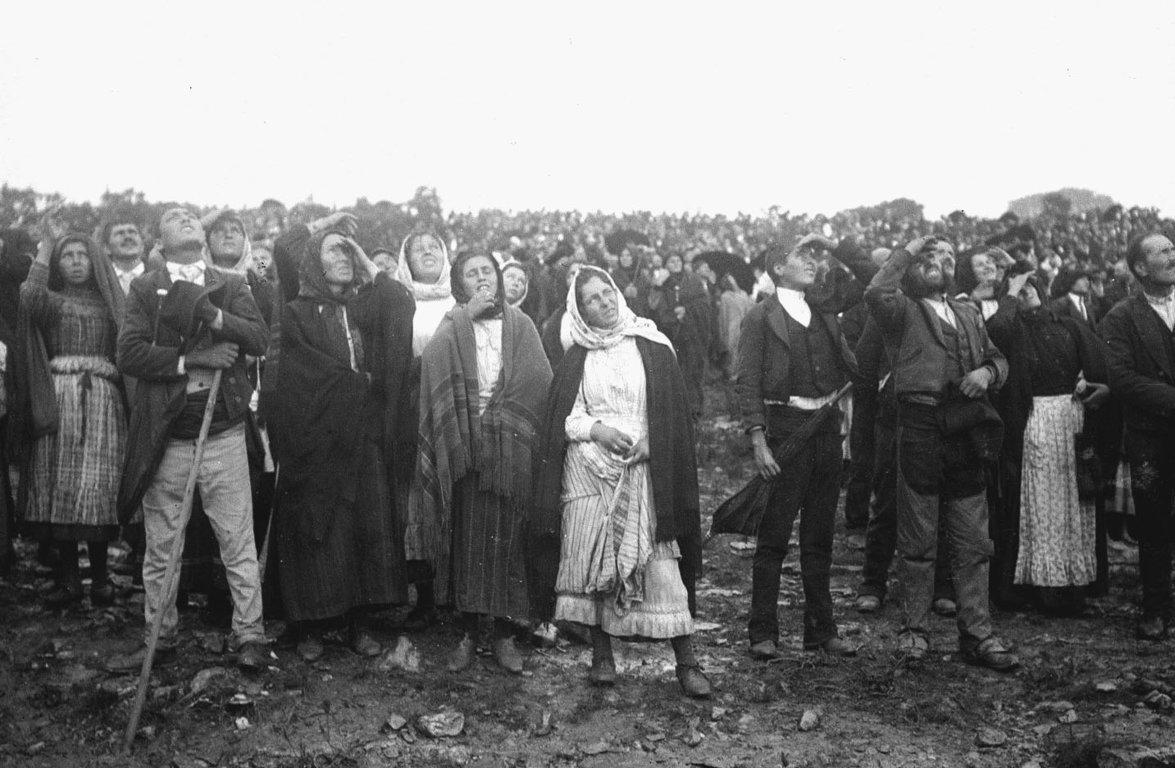 Milagre do Sol - 13 de outubro de 1917, em Fátima